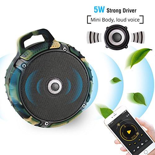 Lefun Cannon Wireless Portable Bluetooth Speaker Shower