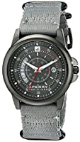 Sperry Top-Sider Men's 10018681 Skipper Analog Display Japanese Quartz Grey Watch from Sperry Top-Sider Watches MFG Code