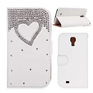 Handmade Bling PU Leather Case Cover for Samsung Galaxy S4 SIV #07