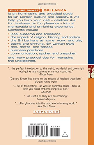 Sri Lanka - Culture Smart! the Essential Guide to Customs & Culture: The Essential Guide to Customs and Culture