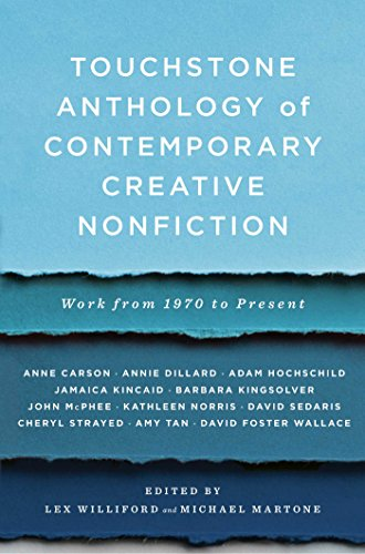 Touchstone Anthology of Contemporary Creative Nonfiction:...