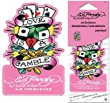 51xYcBgsyXL. SL160  Ed Hardy Love Is a Gamble Air Freshener   Patchouli Scent