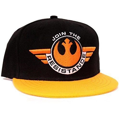 STAR WARS Cap Join The Resistance Episode VII THE FORCE AWAKENS berretto cappello berretto cappello con visiera