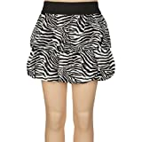 FULL TILT Double Bubble Zebra Girls Skirt
