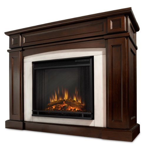 Emerald Isle Entertainment Center Ventless Electric Indoor Fireplace - Mahogany photo B007N6WTOE.jpg