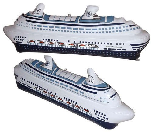 Holland America Lines Inflatable Cruise Ship - 1