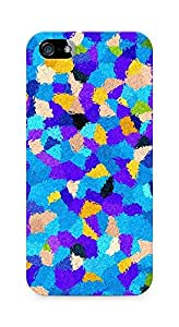 Amez designer printed 3d premium high quality back case cover for Apple iPhone 5 (80´s Pattern)