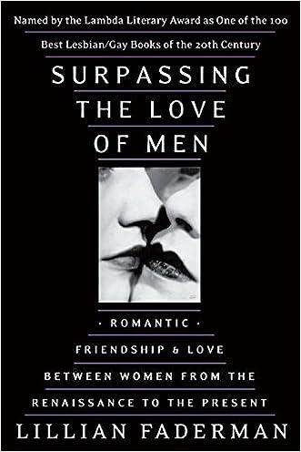 Surpassing the Love of Men written by Lillian Faderman