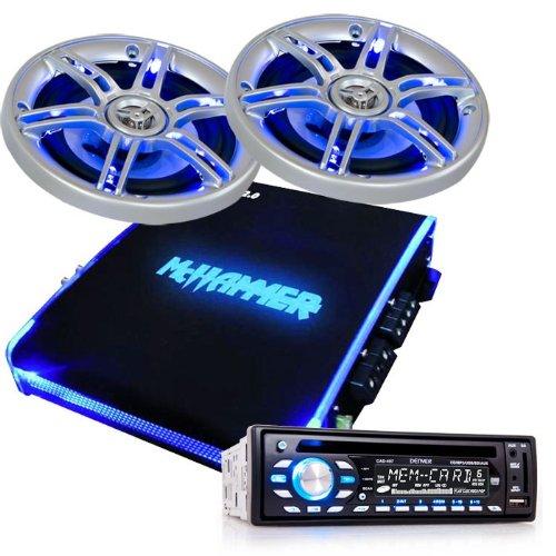 1350W Auto Musikanlage Verstärker LED Lautsprecher