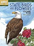 img - for BOOST State Birds and Flowers Coloring Book (BOOST Educational Series) book / textbook / text book
