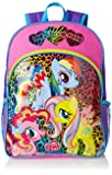 FAB Starpoint Little Girls'  My Little Pony Animal Print 16 Inch Backpack, Multi, One Size