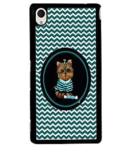 PRINTVISA Cute Cat Case Cover for Sony Xperia M4 Aqua::Sony Xperia M4 Aqua Dual