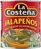 La Costena ganze Jalapenos , 1er Pack (1 x 2.6 kg)