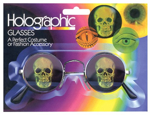 Loftus International Hologram Skull Glasses - 1