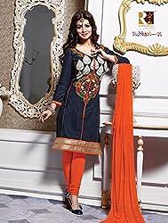 Leranath Fashion House Women'S Aesha Takiya Grey Color Dress