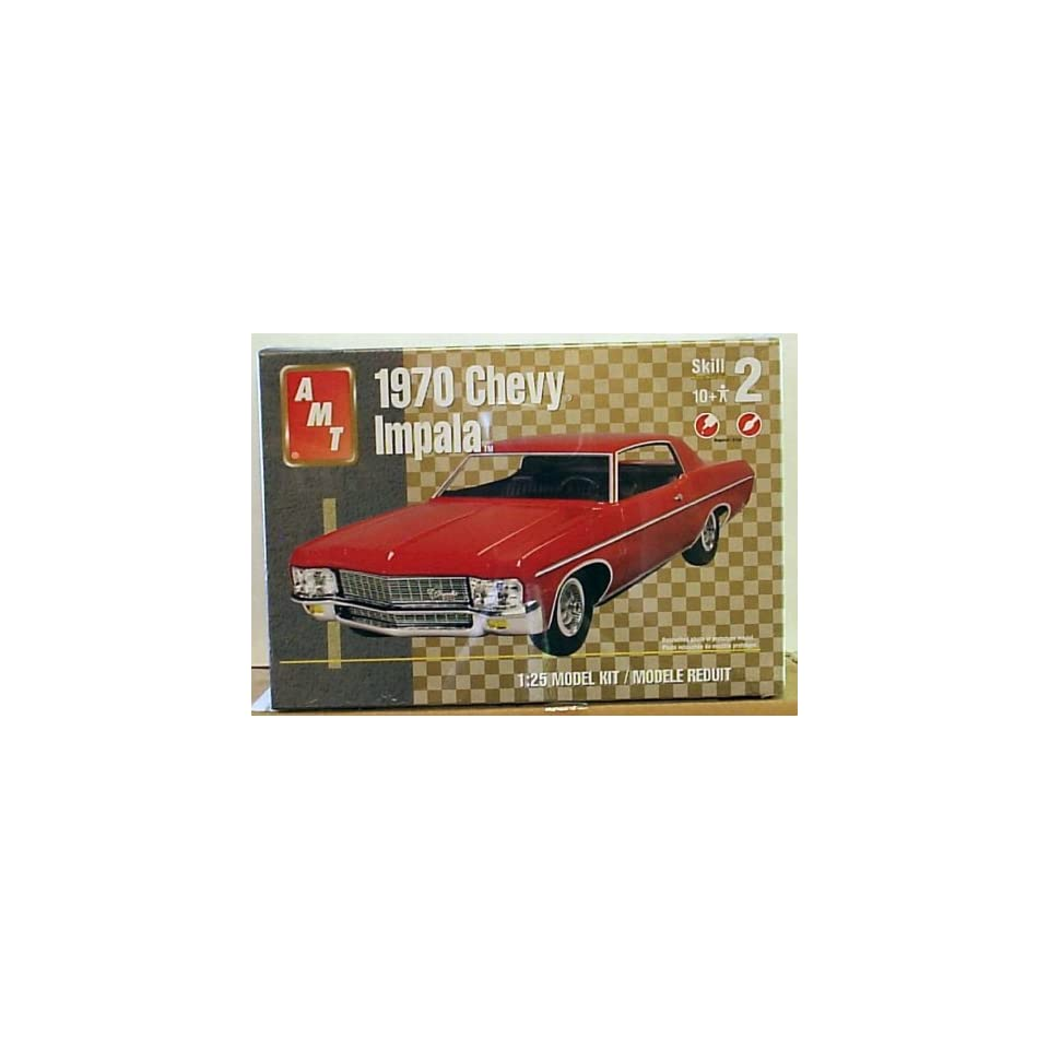 AMT 38212 1970 Chevy Impala 1/25 Scale Plastic Model Kit Toys & Games
