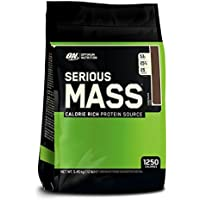 Optimum Nutrition Serious 5.45 kg Mass Weight Gain Powder (Chocolate)