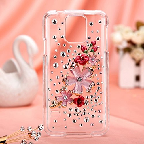 Mybat Samsung Galaxy S5 3D Diamante Protector Cover With Package - Retail Packaging - True Baby Stars front-682890