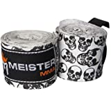MEISTER MMA 180 HANDWRAPS ALL COLORS boxing hand wraps : Death Skulls
