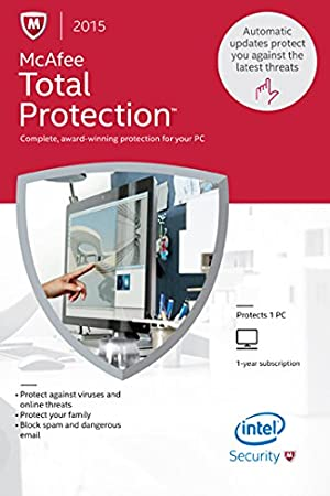 McAfee Total Protection 2015 - 1 PC [Online Code]