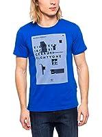 Cerruti Camiseta Manga Corta CMM8022250 C0842 (Azul Royal)