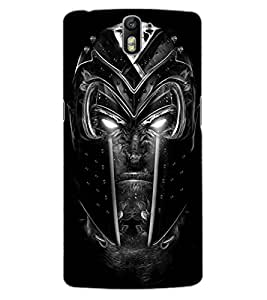 ColourCraft Scary Face Design Back Case Cover for OnePlus One