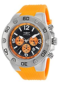 Invicta Men's 20271 Pro Diver Analog Display Quartz Orange Watch