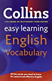 Easy Learning English Vocabulary (Collins Easy Learning English)