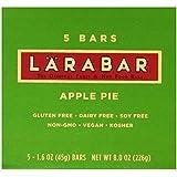 LARABAR Fruit & Nut Food Bar, Apple Pie, Gluten Free 1.6 ounce , 5 count