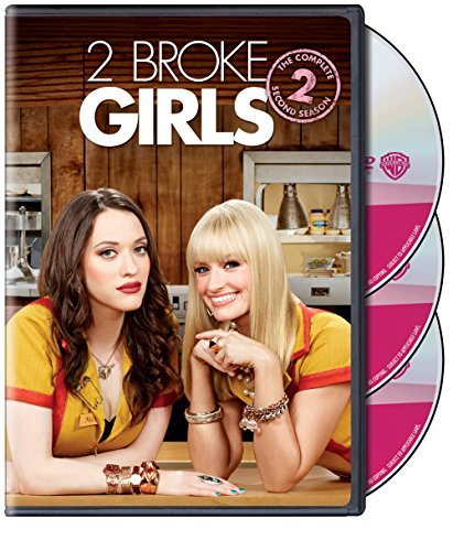 DVD : 2 Broke Girls: The Complete Second Season (, Dolby, AC-3, 3 Pack, 3 Disc)