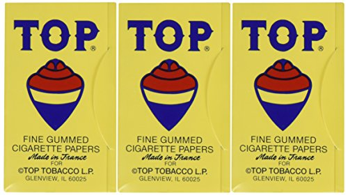 Top Cigarette Rolling Papers, 3 packs (Top Cigarette compare prices)