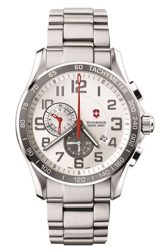 Victorinox Swiss Army Men's 241282 Classic XLS White Dial Watch