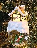 Baltimore Orioles Home Sweet Home Snowglobe Ornament