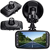 """digitsea® 2.7"""" 1080P HD TFT Screen Car DVR Vehicle Camera Video Recorder camcorder Road Dash Cam GS 8000 with HDMI interface wide-angle Night Vision and Motion Detection"""