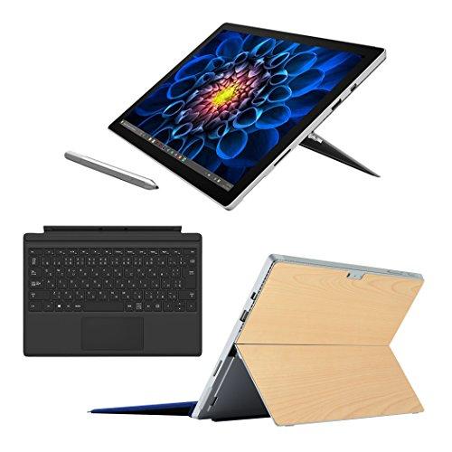 Surface Pro 4 (i5 / 128GB / 4GB モデル) + 専用 タイプ カバー (ブラック) + 限定スキン シール (メープル)