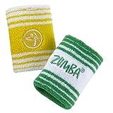 Zumba Wear Women's Deutschland Wristband (Pack of 2)