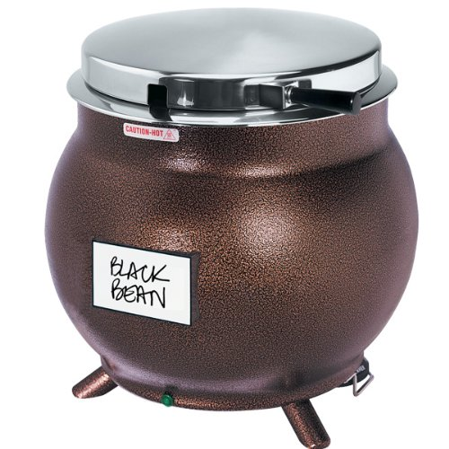 7-Quart Kettle Shaped Soup Warmer - Copper