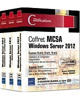 MCSA Windows Server 2012 - Coffret de 3 livres - Préparation aux examens 70-410, 70-411, 70-412 et 70-417