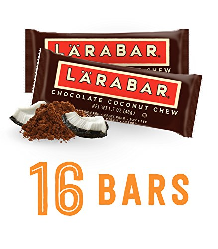 Larabar Gluten Free Snack Bar, Chocolate Coconut Chew, 1.8 oz. Bars (16 Count) (Energy Chocolate Chews compare prices)