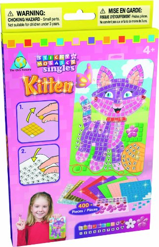 The Orb Factory Sticky Mosaics Sticky Mosaics Singles Kitten - 1