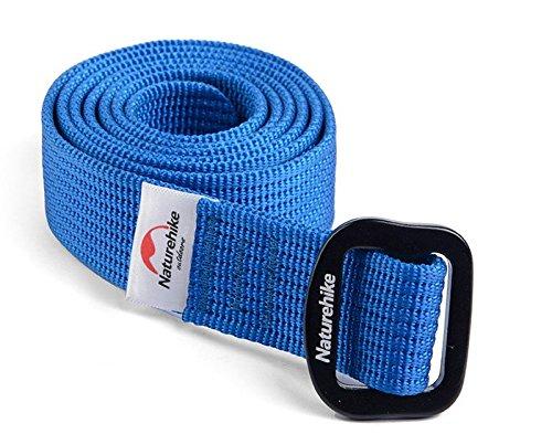 Naturehike Nylon rapida essiccazione Cintura Outdoor Tactic Belt Unisex Cintura(Blue)