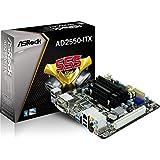 Asrock AD2550-ITX - Placa base (mini-ITX / Intel NM10 Atom / DDR3 Memoria / 2x SATA II / DVI-D / HDMI / 2x USB 3.0)