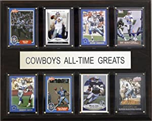 NFL Dallas Cowboys All-Time Greats Plaque(Art May Vary) by C&I Collectables