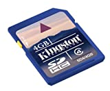 Kingston 4GB SDHC Card Class4 SD4/4GB