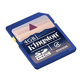 FREE Kingston 4 GB SD Memory Card Promotion at Amazon.com