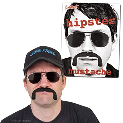 Accoutrements Hipster Mustache