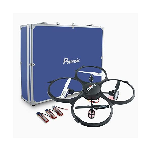 RC-Quadcopter-Potensic-Upgraded-UDI-818A-HD-24GHz-CH-6-Axis-Gyro-RC-Quadcopter-with-2-Megapixels-Camera-Multi-Directional-ModeDrone-with-Carrying-Case