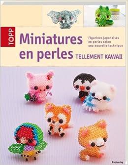 Miniatures en perles tellement KAWAII: figurines japonaises en perles