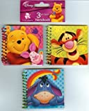 Disney Winnie the Pooh: 3 Mini Notebooks