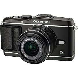 Olympus PEN E-P3 (Black) with M.ZUIKO DIGITAL 14-42mm f3.5-5.6 Lens